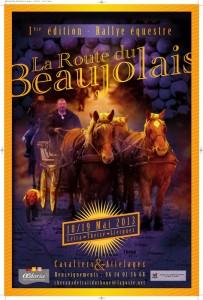 affiche route beaujolais