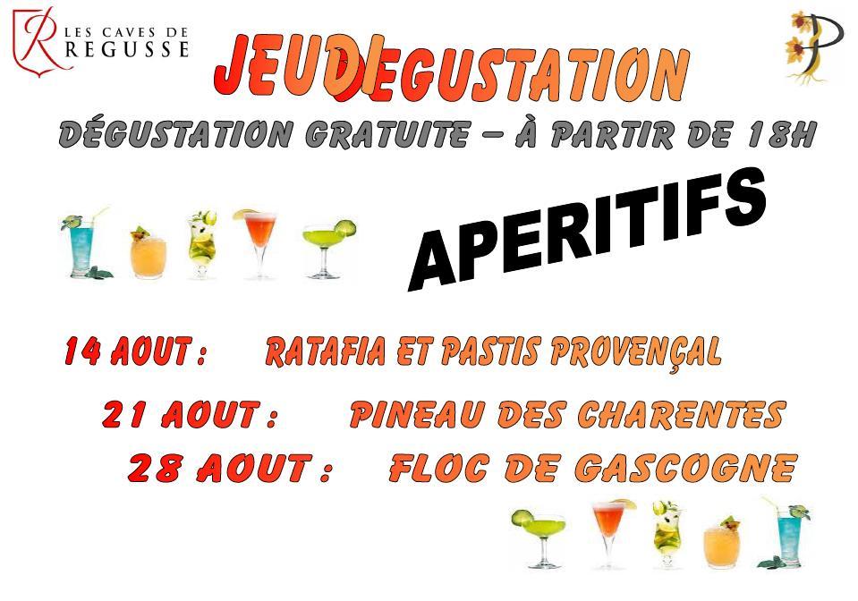 201408 jeudi degustation
