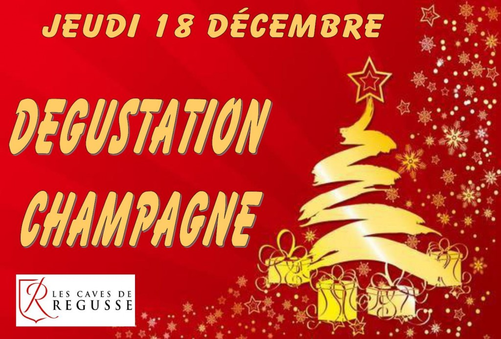 dégustation champagne 18 décembre