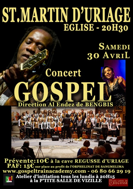 Concert URIAGE 30 Avril 2016