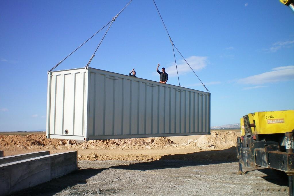 Installation Container, Lorevi