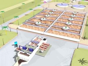 Station d'épuration Projet LOREVI