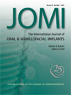 International Journal of Oral Maxillofacial Implants