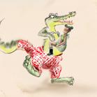 Armani, illustration by Martine Brand