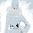 Alexander McQueen, illustration by Martine Brand