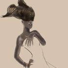 Giorgio Armani, illustration by Martine Brand