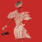 Chanel, illustration by Martine Brand
