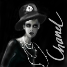 Chanel Beauty, illustration by Martine Brand