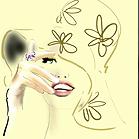 Gucci Jewellery, illustration by Martine Brand