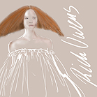 Rick Owens, illustration by Martine Brand