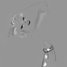 Dior, illustration by Martine Brand