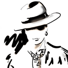 Hermes, illustration by Martine Brand