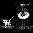 Jean-Paul Gaultier, illustration by Martine Brand