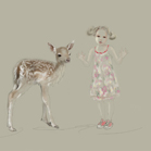 Kenzo, Superga, illustration by Martine Brand