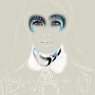 Miu Miu, illustration by Martine Brand