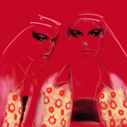Prada, illustration by Martine Brand
