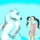 Sonia Rykiel, illustration by Martine Brand