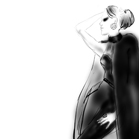 Yves Saint Laurent, illustration by Martine Brand