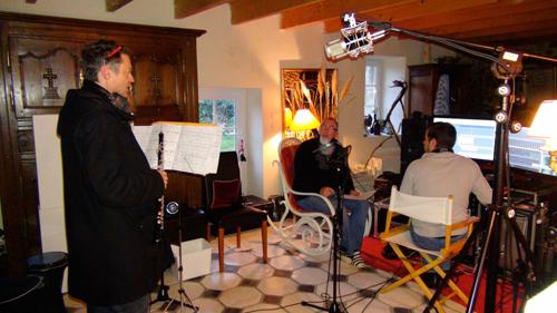 """Michel Offmann, hautbois (Enregistrement des albums """"La Barque ailée et l'Albatros"""")"""
