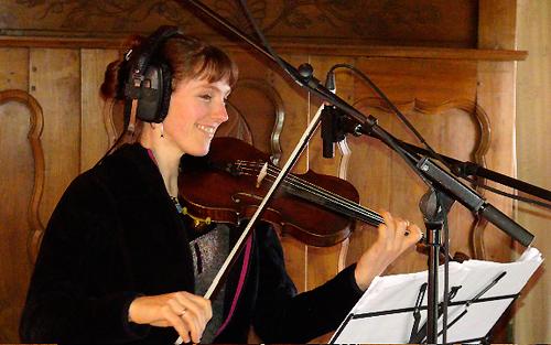 """Shane Lestideau, violon (Enregistrement des albums """"La Barque ailée et l'Albatros"""")"""