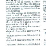 Ouest France, 4 novembre 2009