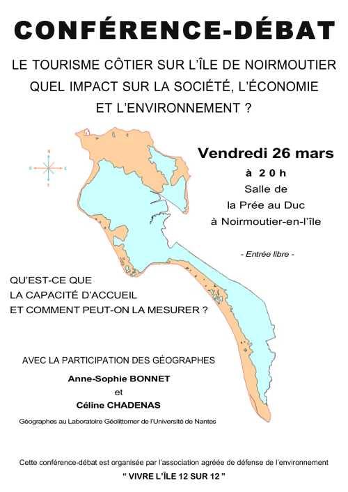Conférence débat sur le tourisme côtier