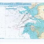 Carte de localisation de la concession Cairnstrath B