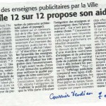 Courrier vendéen du 7 octobre 2010