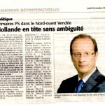 Courrier vendéen du 20 octobre 2011