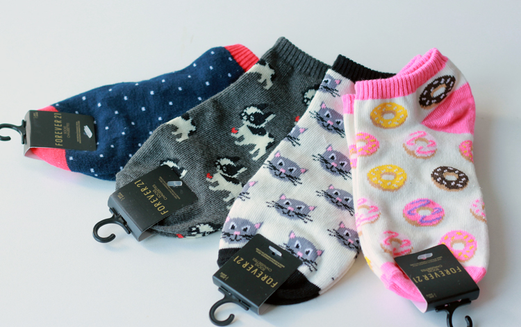 chaussettes forever 21